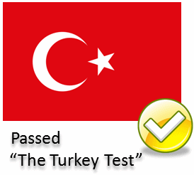 turkey test