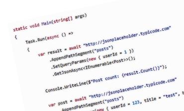 HTTP İşlemleri için Fluent HTTP (Flurl)
