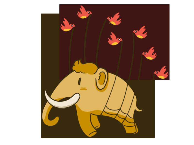 Mastodon hata sayfalarındaki görsel
