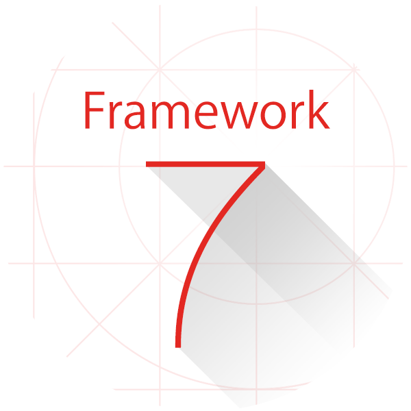 Framework7 logosu