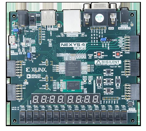 Nexys 4 FPGA geliştirme kartı
