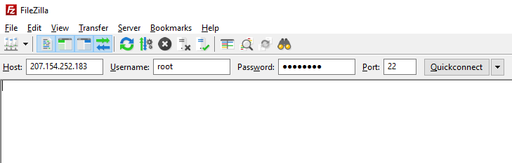 18 - FileZilla ile DigitalOcean sunucusuna SFTP ile bağlanılması