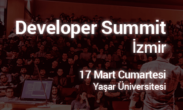 Developer Summit İzmir 17 Mart'ta