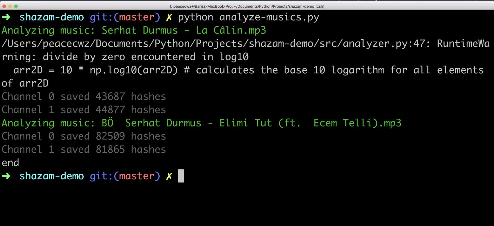 Shazam Code - 4