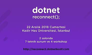 dotnet reconnect(); 22 Aralık'ta