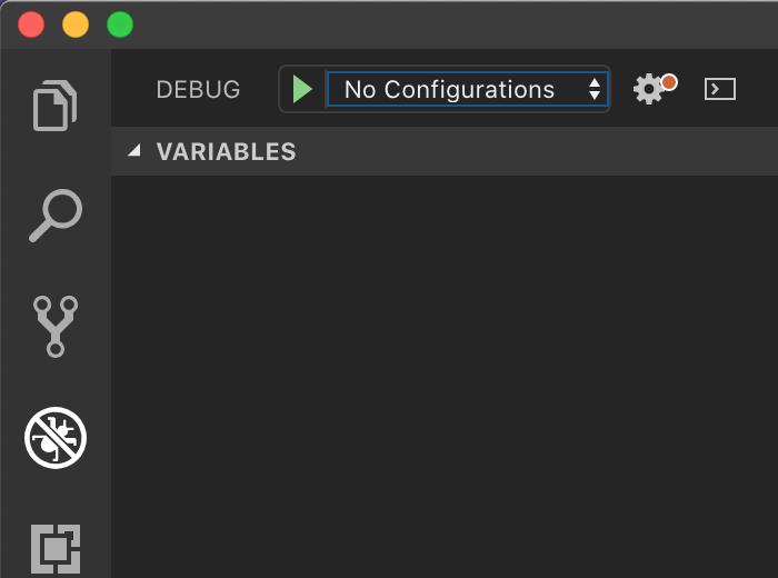 No Configurations
