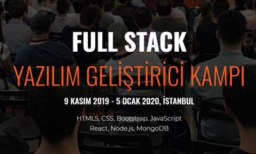 Full Stack Yazılım Geliştirici Kampı Başvuruları Başladı