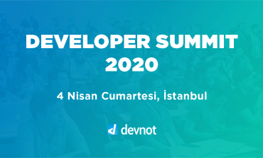 Developer Summit 2020 4 Nisan'da