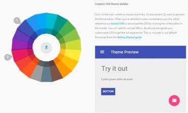 Google Material Design Lite'ı Yayınladı