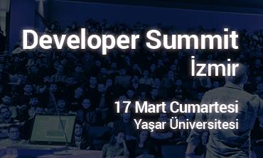 Developer Summit İzmir 17 Mart'ta