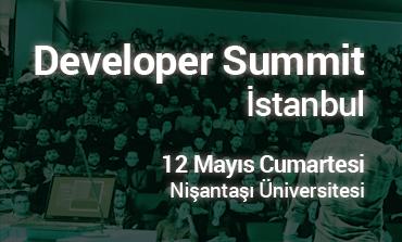 Developer Summit İstanbul 12 Mayıs'ta