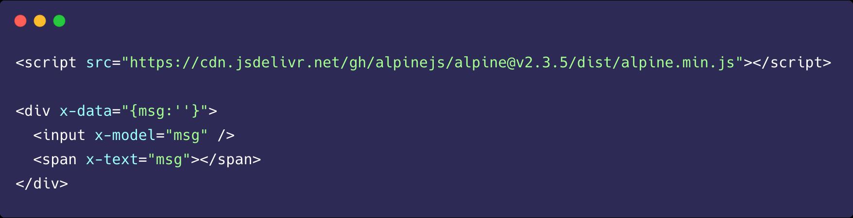 Alpinejs ile reaktif bir input elemanının kodlanması